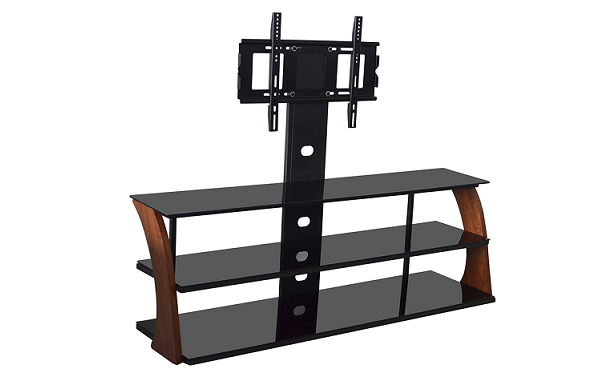 best glass tv stands with mount